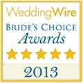 Brides choice awards 2013 wedding wire Blue Spot Photography